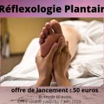 Nouveau: Réflexologie Plantaire+ CADEAU