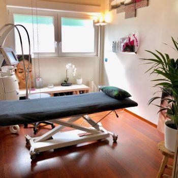 salon table massage et matériel LPG